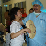Dr. Koko Canga during a DAUSA Medical Mission with sister DAUSA Vice President Candy Canga, a Californai RN
